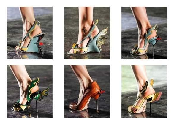 Модните тенденции при обувките 2012