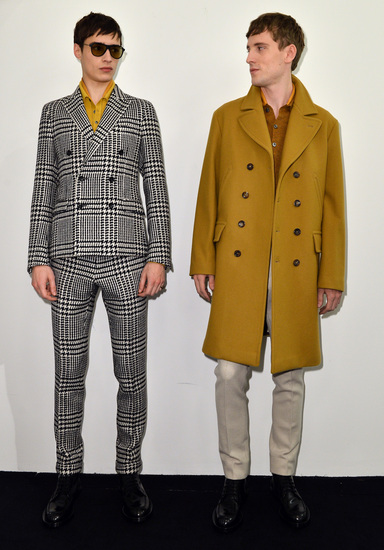 Gucci - Backstage - Milan Fashion Week Menswear Autumn/Winter 2013