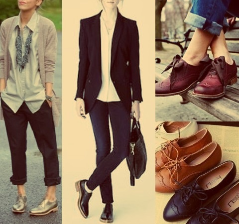 brogues-oxfords-women-shoes-layering-jacket-stylish-trendy